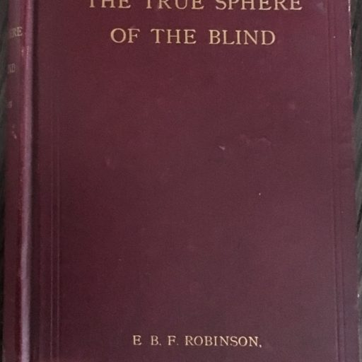 Front cover of the book bound in burgudy buckram with gold lettering