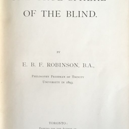 Title page of the book, all in capital letters with black print